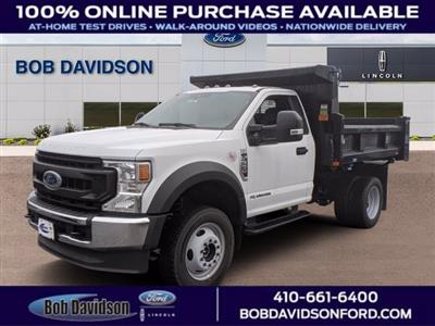 2020 Ford F-550 Regular Cab DRW 4x4, Dump Body #50962 - photo 1