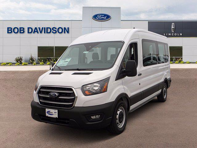 2020 Ford Transit 350 Med Roof 4x2, Passenger Wagon #51100 - photo 3