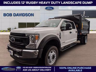 2020 Ford F-550 Crew Cab DRW 4x4, Landscape Dump #51145 - photo 1