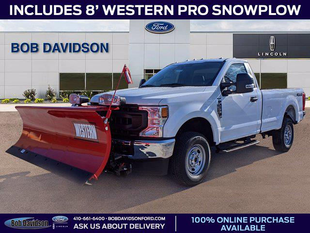 2020 Ford F-250 Regular Cab 4x4, Western Pickup #51171 - photo 1