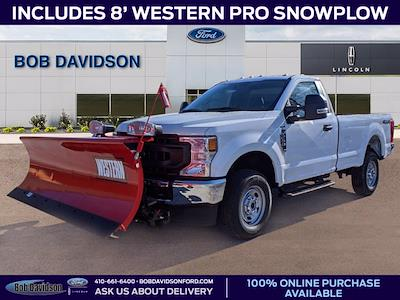 2020 Ford F-250 Regular Cab 4x4, Western Snowplow Pickup #51171 - photo 1