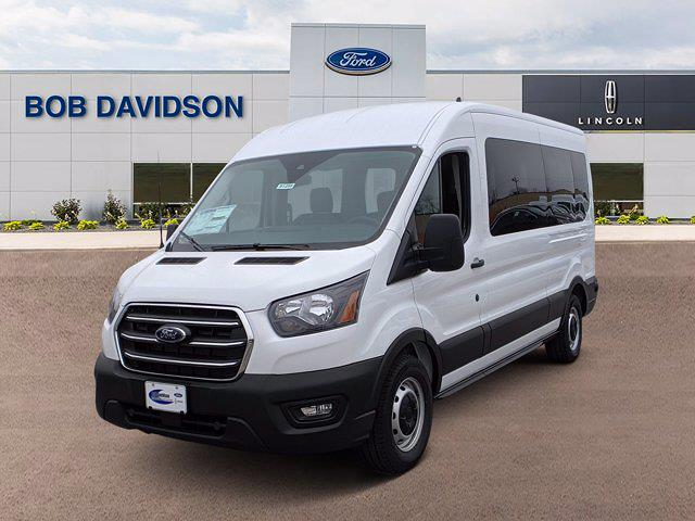 2020 Ford Transit 350 Med Roof 4x2, Passenger Wagon #51255 - photo 3