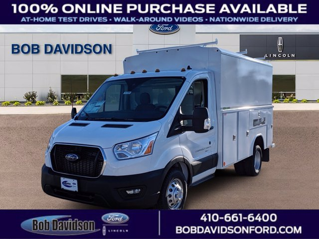 2020 Ford Transit 350 HD DRW AWD, Reading Service Utility Van #51258 - photo 1
