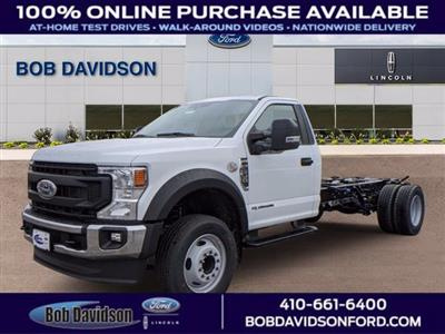 2021 Ford F-600 Regular Cab DRW 4x2, Cab Chassis #60106 - photo 1