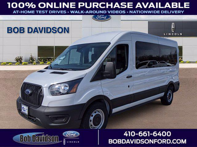 2021 Ford Transit 350 Medium Roof 4x2, Passenger Wagon #60188 - photo 1