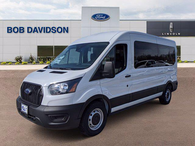 2021 Ford Transit 350 Medium Roof 4x2, Passenger Wagon #60188 - photo 2