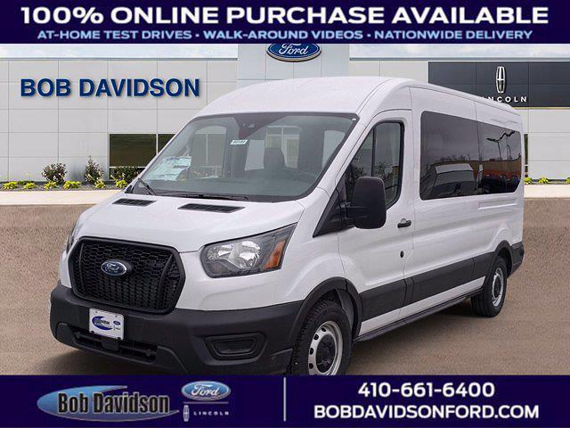2021 Ford Transit 350 Medium Roof 4x2, Passenger Wagon #60197 - photo 1