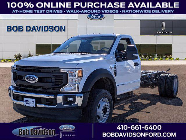 2021 Ford F-600 Regular Cab DRW 4x2, Cab Chassis #60214 - photo 1