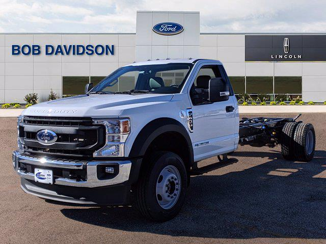 2021 Ford F-600 Regular Cab DRW 4x4, Cab Chassis #60220 - photo 3