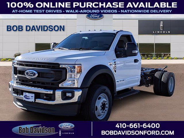 2021 Ford F-600 Regular Cab DRW 4x2, Cab Chassis #60227 - photo 1
