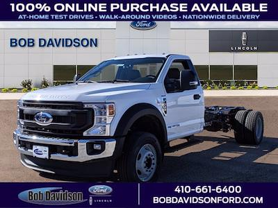 2021 Ford F-600 Regular Cab DRW 4x2, Cab Chassis #60228 - photo 1