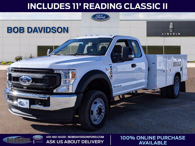 2021 Ford F-550 Super Cab DRW 4x4, Reading Service Body #60241 - photo 1