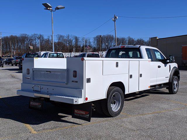 2021 Ford F-550 Super Cab DRW 4x4, Reading Classic II Steel Service Body #60241 - photo 4
