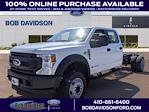 2021 Ford F-550 Crew Cab DRW 4x2, Cab Chassis #60354 - photo 1