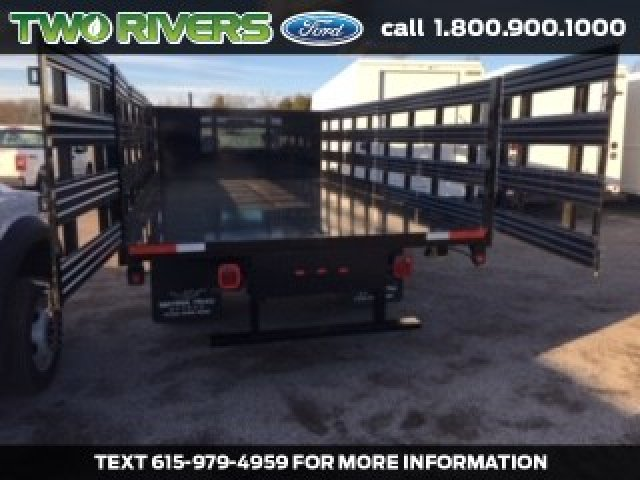 2019 Ford F-550 Regular Cab DRW 4x2, Smyrna Truck Stake Bed #92121 - photo 1