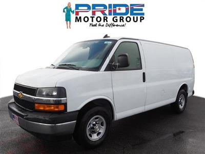 2019 Chevrolet Express 2500 4x2, Carrier Direct-Drive Refrigerated Body #14651 - photo 1