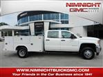 2019 Sierra 3500 Crew Cab DRW 4x2,  Reading Service Body #206215T - photo 1