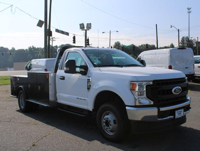 2020 Ford F-350 Regular Cab DRW 4x4, CM Truck Beds Hauler Body #T22533 - photo 1