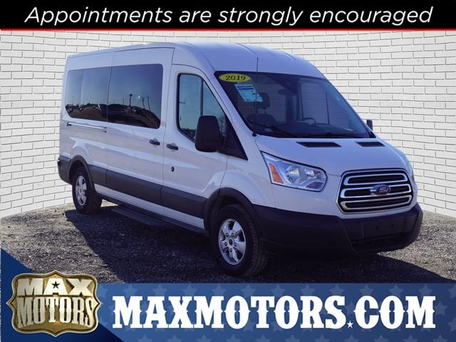 2019 Transit 350 Med Roof 4x2, Passenger Wagon #1763P - photo 1