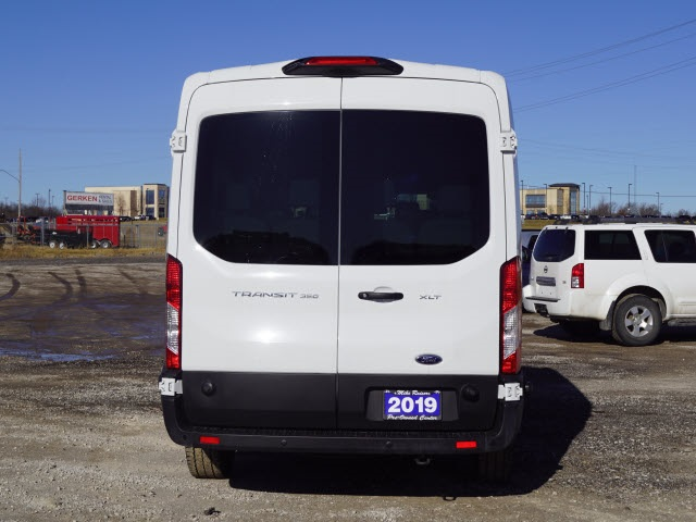 2019 Transit 350 Med Roof 4x2, Passenger Wagon #1763P - photo 4