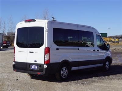 2019 Transit 350 Med Roof 4x2, Passenger Wagon #1763P - photo 2
