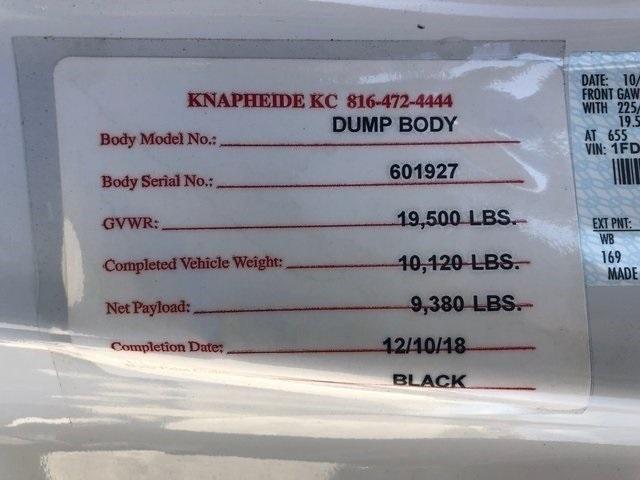 2019 F-550 Regular Cab DRW 4x4,  Knapheide Dump Body #90270 - photo 89