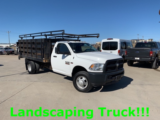 2014 Ram 3500 Regular Cab DRW 4x2, Stake Bed #91280A - photo 1