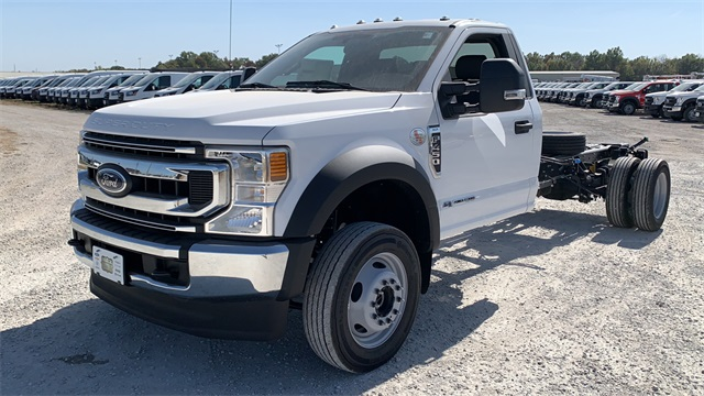 2020 Ford F-450 Regular Cab DRW 4x4, Cab Chassis #F201221 - photo 4
