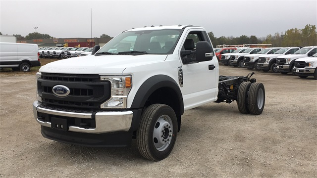 2020 Ford F-450 Regular Cab DRW 4x4, Cab Chassis #F201239 - photo 4