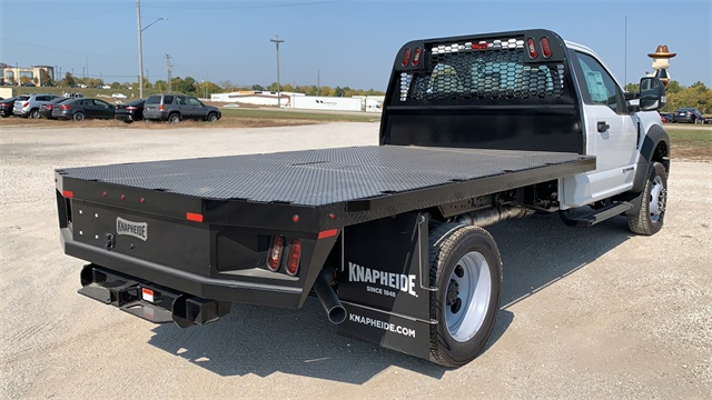 2020 Ford F-550 Regular Cab DRW 4x4, Knapheide Platform Body #F201255 - photo 1