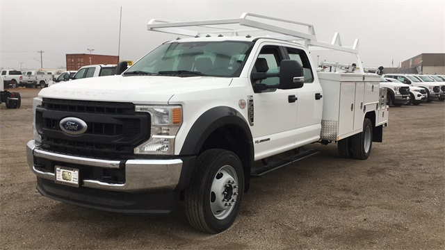 2020 Ford F-550 Crew Cab DRW 4x4, Scelzi SEC Combo Body #F201265 - photo 4