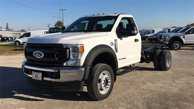 2020 Ford F-550 Regular Cab DRW 4x4, Cab Chassis #F201271 - photo 4
