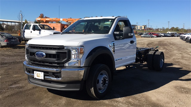 2020 Ford F-550 Regular Cab DRW 4x4, Cab Chassis #F201305 - photo 4
