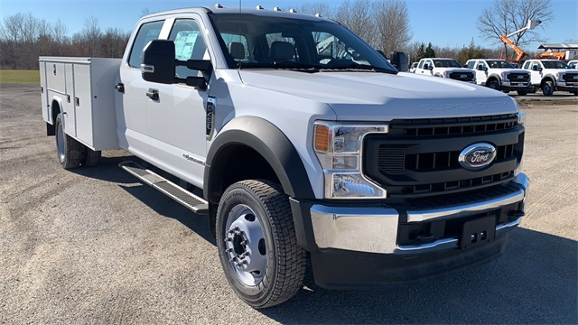 2020 Ford F-450 Crew Cab DRW 4x4, Knapheide Service Body #F201493 - photo 1