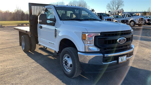 2020 Ford F-350 Regular Cab DRW 4x4, CM Truck Beds PL Model Platform Body #F201555 - photo 1