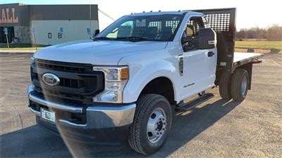 2020 Ford F-350 Regular Cab DRW 4x4, CM Truck Beds PL Model Platform Body #F201555 - photo 4