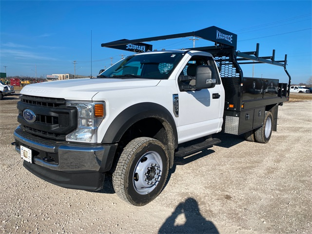 2020 Ford F-550 Regular Cab DRW 4x4, Knapheide Contractor Body #F201578 - photo 4