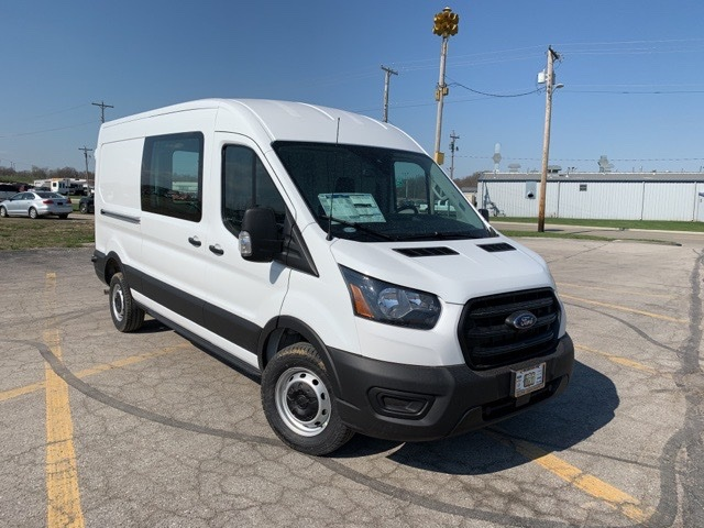 2020 Transit 250 Med Roof AWD, Sortimo Upfitted Cargo Van #F20464 - photo 1