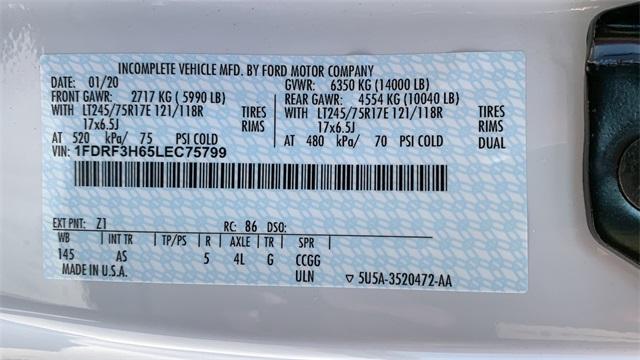 2020 Ford F-350 Regular Cab DRW 4x4, Monroe MTE-Zee Dump Body #F20626 - photo 38