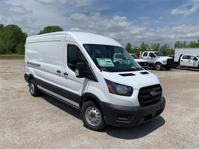 2020 Ford Transit 250 Med Roof AWD, Weather Guard Upfitted Cargo Van #F20650 - photo 1