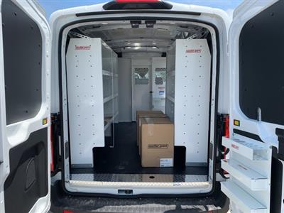 2020 Ford Transit 250 Med Roof AWD, Weather Guard Upfitted Cargo Van #F20650 - photo 2