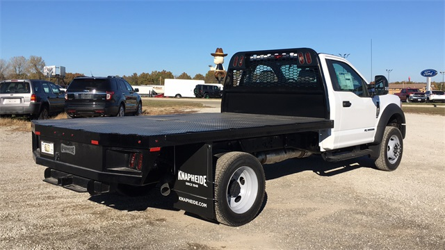 2020 Ford F-550 Regular Cab DRW 4x4, Knapheide PGNB Gooseneck Platform Body #F20674 - photo 2