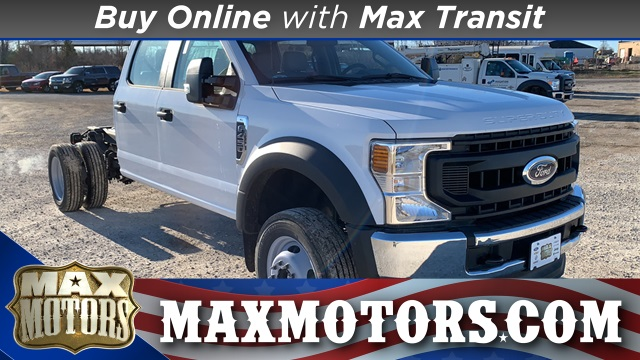 2020 Ford F-450 Crew Cab DRW 4x4, Cab Chassis #F20853 - photo 1