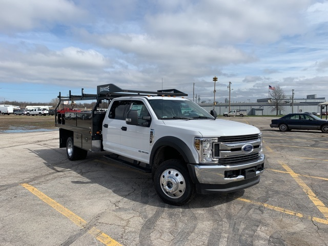 2019 Ford F-550 Crew Cab DRW 4x4, Knapheide Contractor Body #F91313 - photo 1