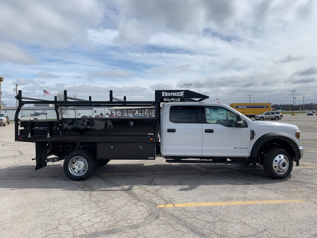 2019 Ford F-550 Crew Cab DRW 4x4, Knapheide Contractor Body #F91313 - photo 4
