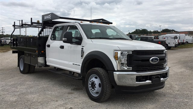 2019 Ford F-450 Crew Cab DRW 4x4, Knapheide Contractor Body #F91325 - photo 1