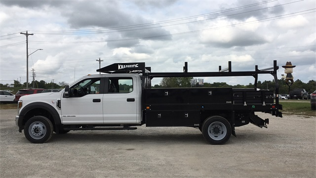2019 F-450 Crew Cab DRW 4x4, Knapheide Contractor Body #F91325 - photo 1