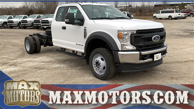 2021 Ford F-550 Super Cab DRW 4x4, Cab Chassis #FH21130 - photo 1