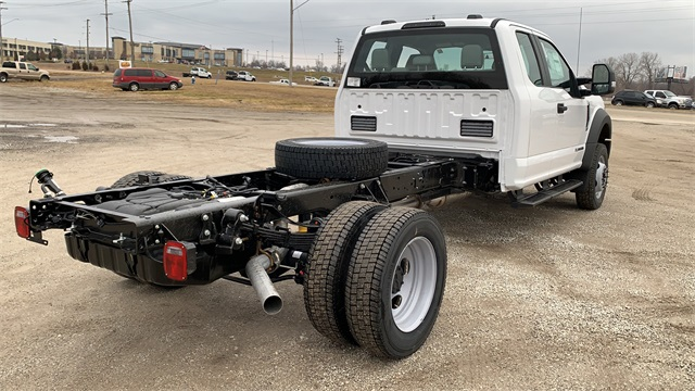 2021 Ford F-550 Super Cab DRW 4x4, Cab Chassis #FH21130 - photo 2