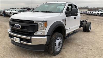 2021 Ford F-550 Super Cab DRW 4x4, Cab Chassis #FH21130 - photo 4